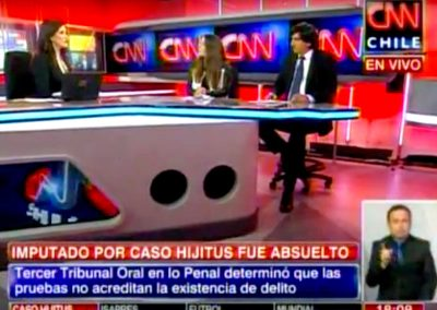 Caso Hijitus: Socios de nuestra firma entrevistados en CNN