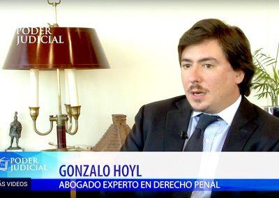 """Gonzalo Hoyl en Noticiero Judicial comentando sobre """"el Psicópata del Pincel"""""""