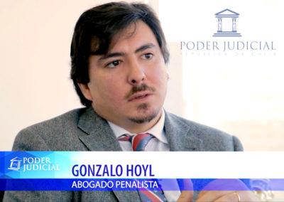 Gonzalo Hoyl en Noticiero Judicial ¿Cómo se sanciona el falso testimonio?