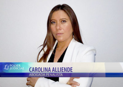Carolina Alliende en Noticiero Judicial: Delito de maltrato animal