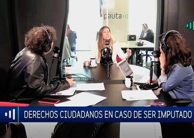 Carolina Alliende se refiere a los derechos de los ciudadanos a la hora de ser imputados