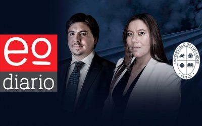 Hoyl Alliende & Cía organiza Conversatorio Abierto, en conjunto con la Facultad de Derecho UANDES, en la transmisión de Estado Diario